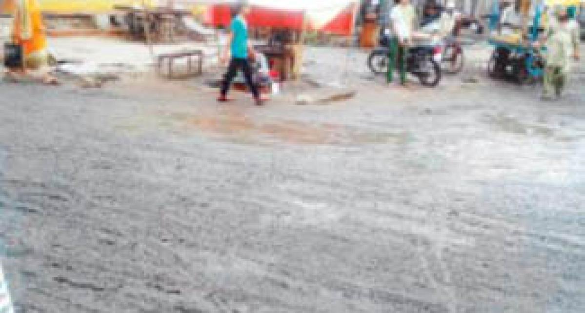 Rain effect: Meghnagar woes unending