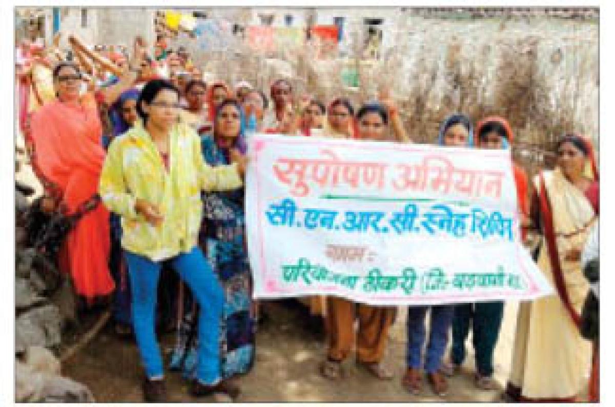 'Suposhan-Abhiyan' launched during Anganwadi workers' convention