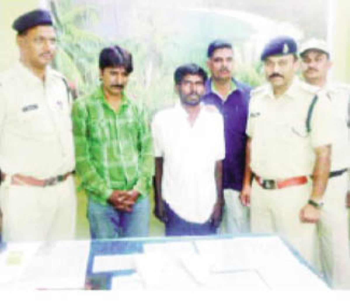 Two held with illegal arms