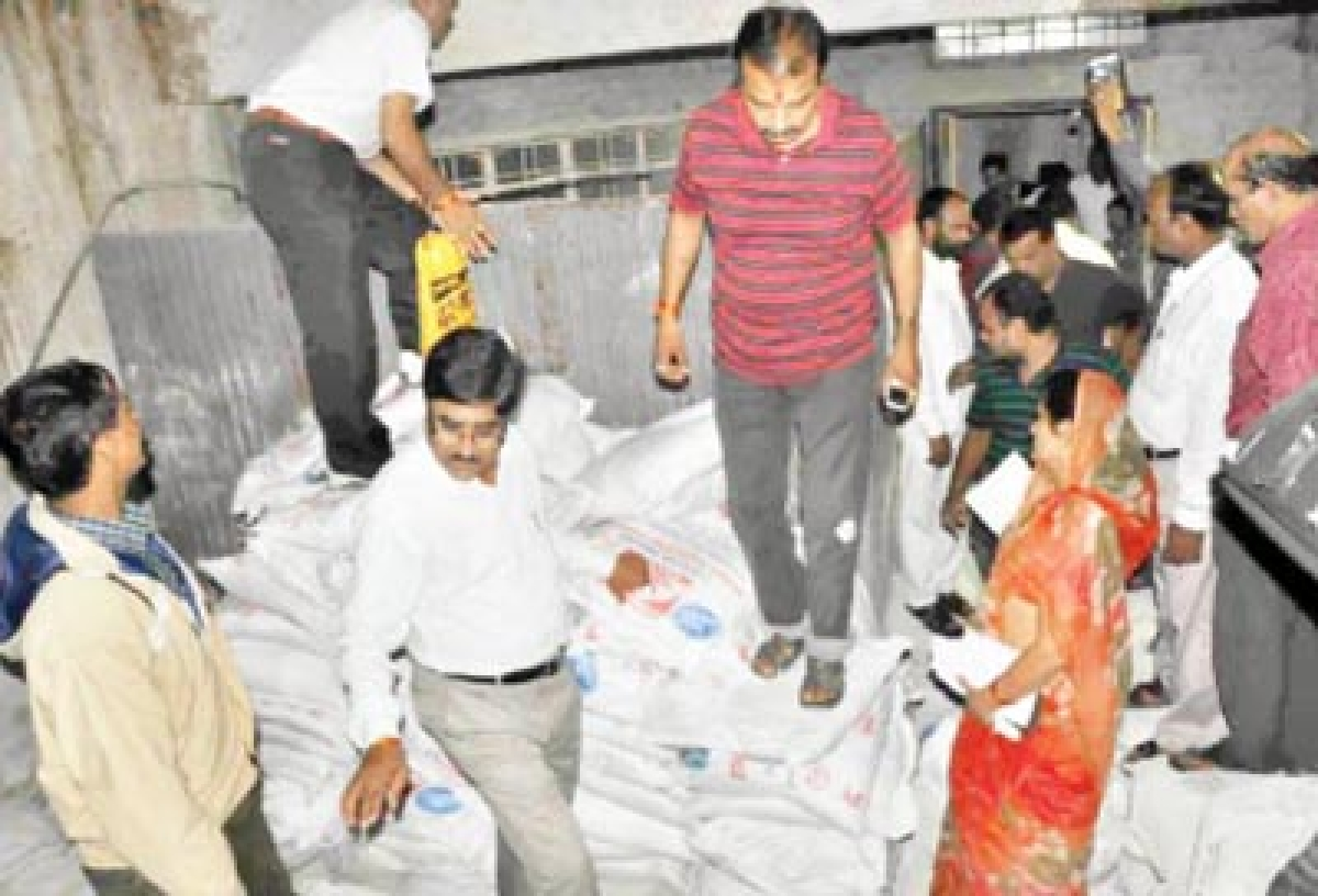 350 bags of fake bleaching powder recovered from UMC godown