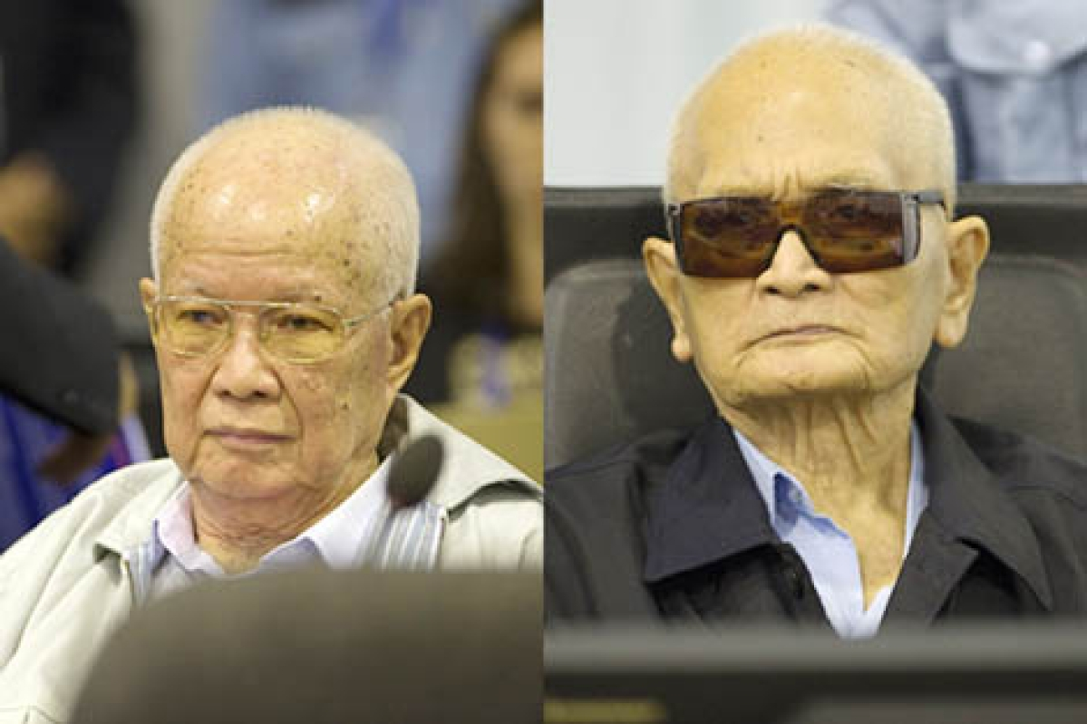 Former Khmer Rouge  leaders jailed for life