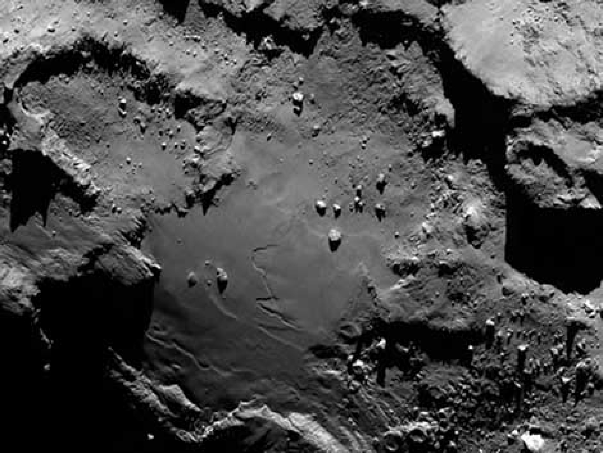 Comet-chaser nears prey after crossing billions of miles