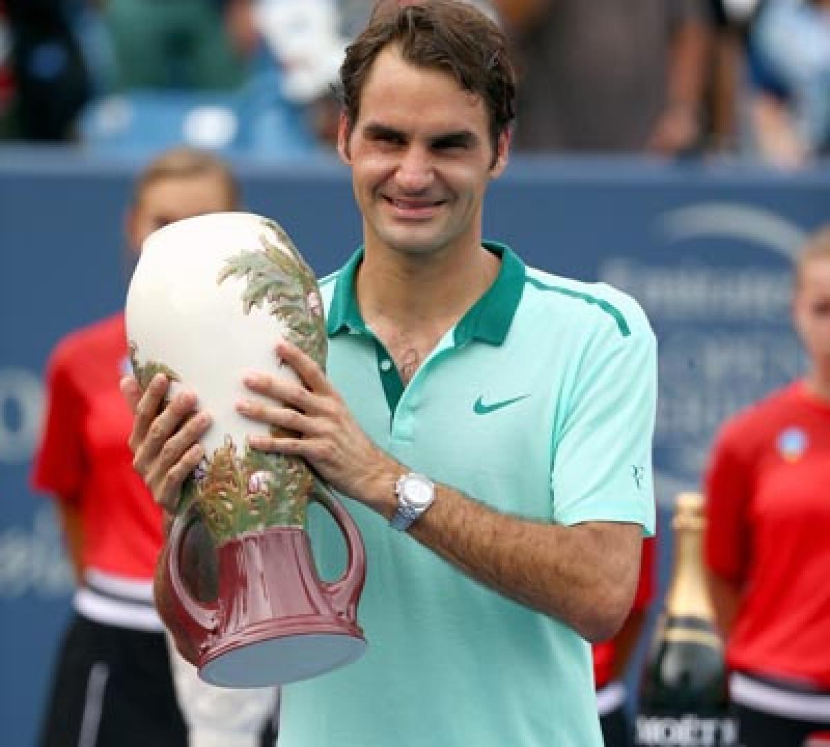 Federer captures 80th career title