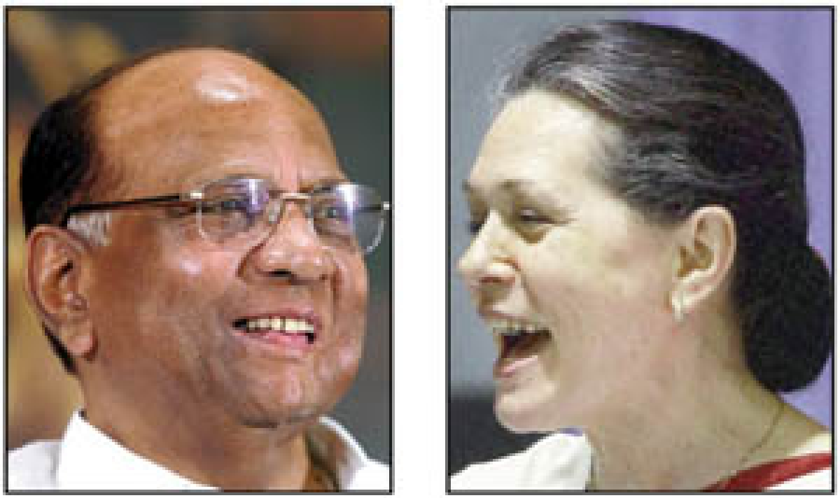 Pawar, Sonia sew up state electoral pact