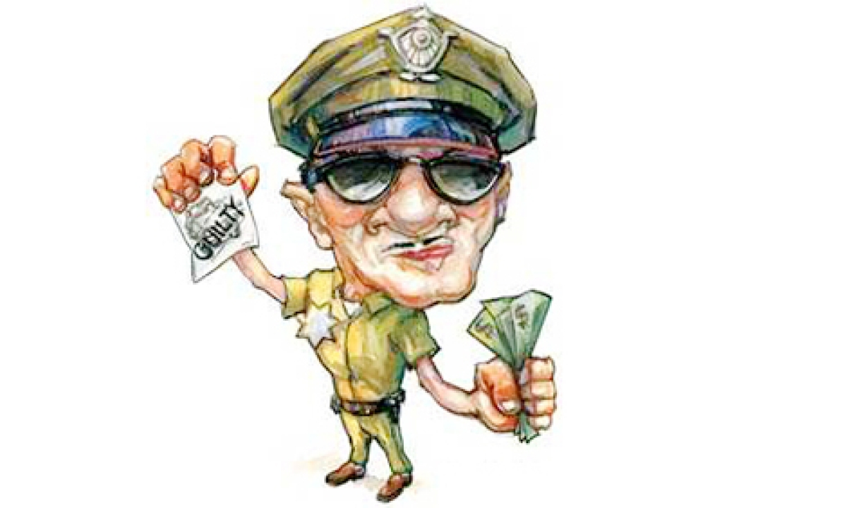 COPS' QUEST FOR BIG MONEY GOES AWRY