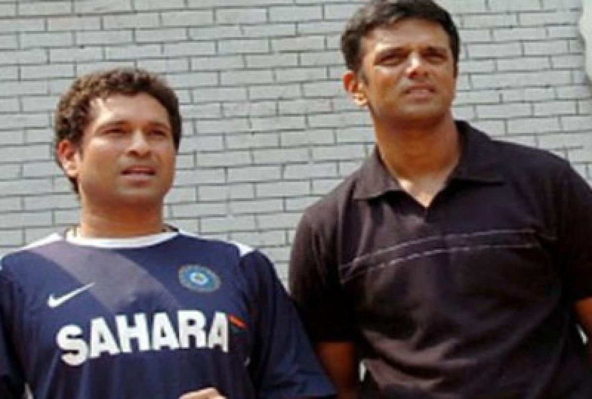 Sachin tedulkar, Rahul Dravid