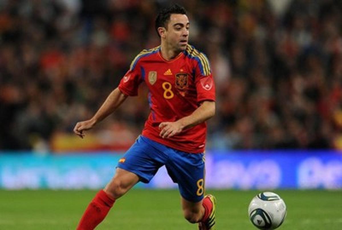 Spanish midfielder Xavi announces retirement from international football