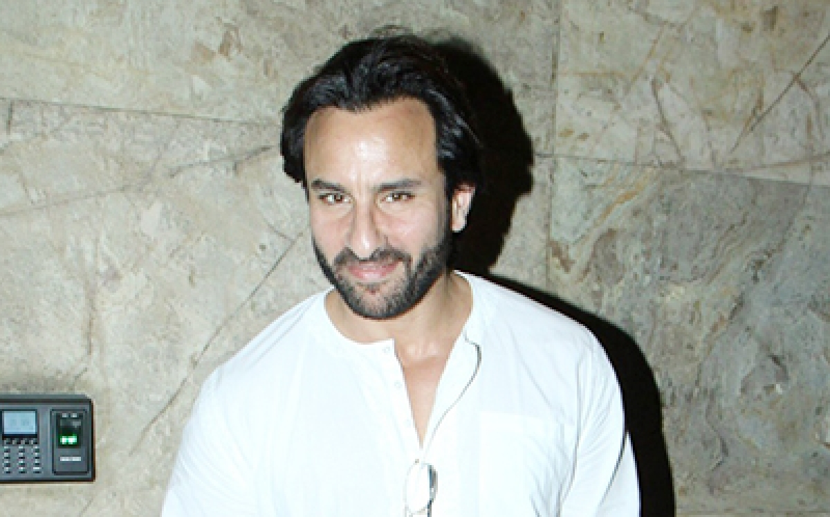 Saif Ali Khan turns 45, says ageing does not scare him