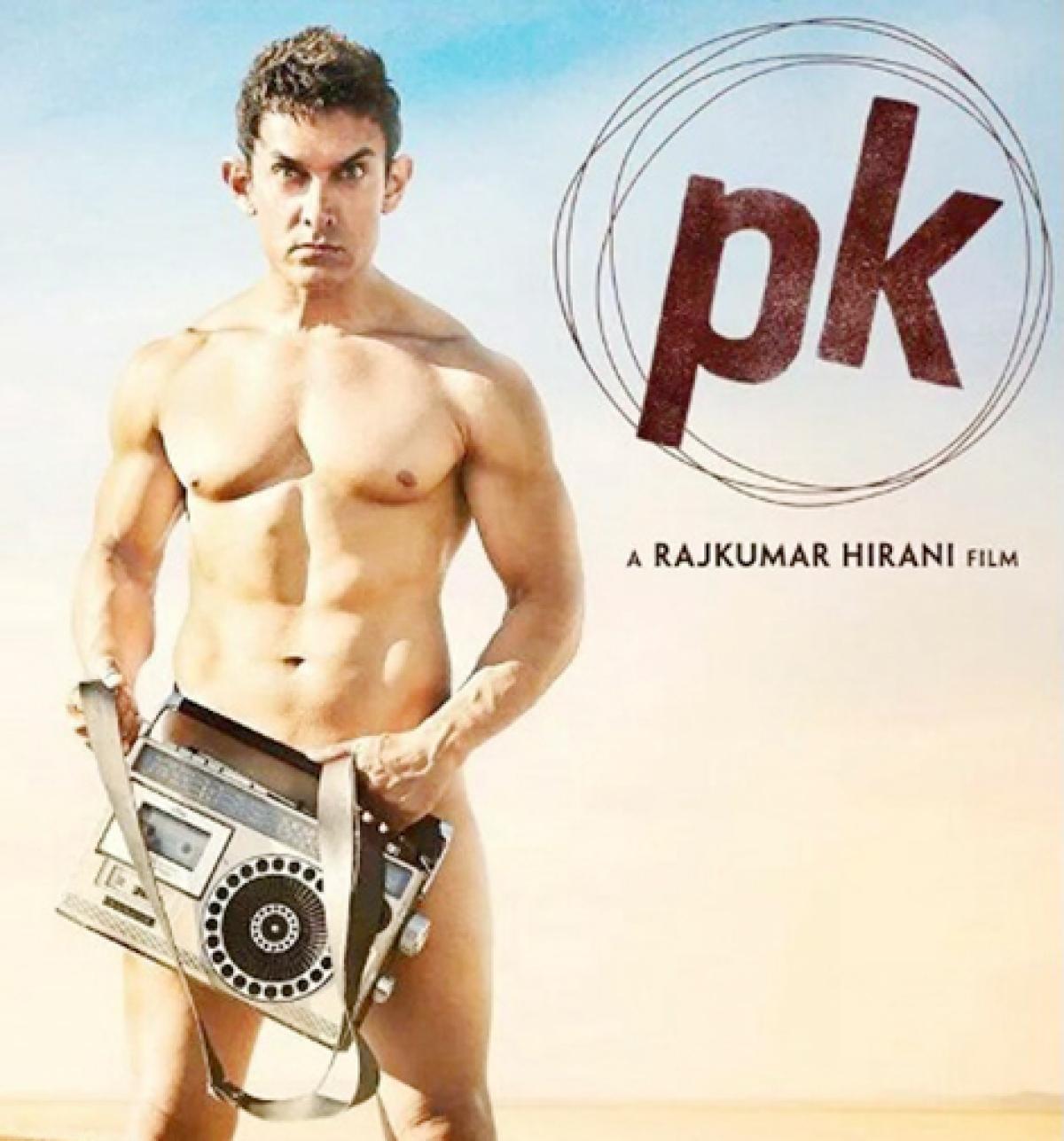 Nude poster 'key art', says Aamir Khan
