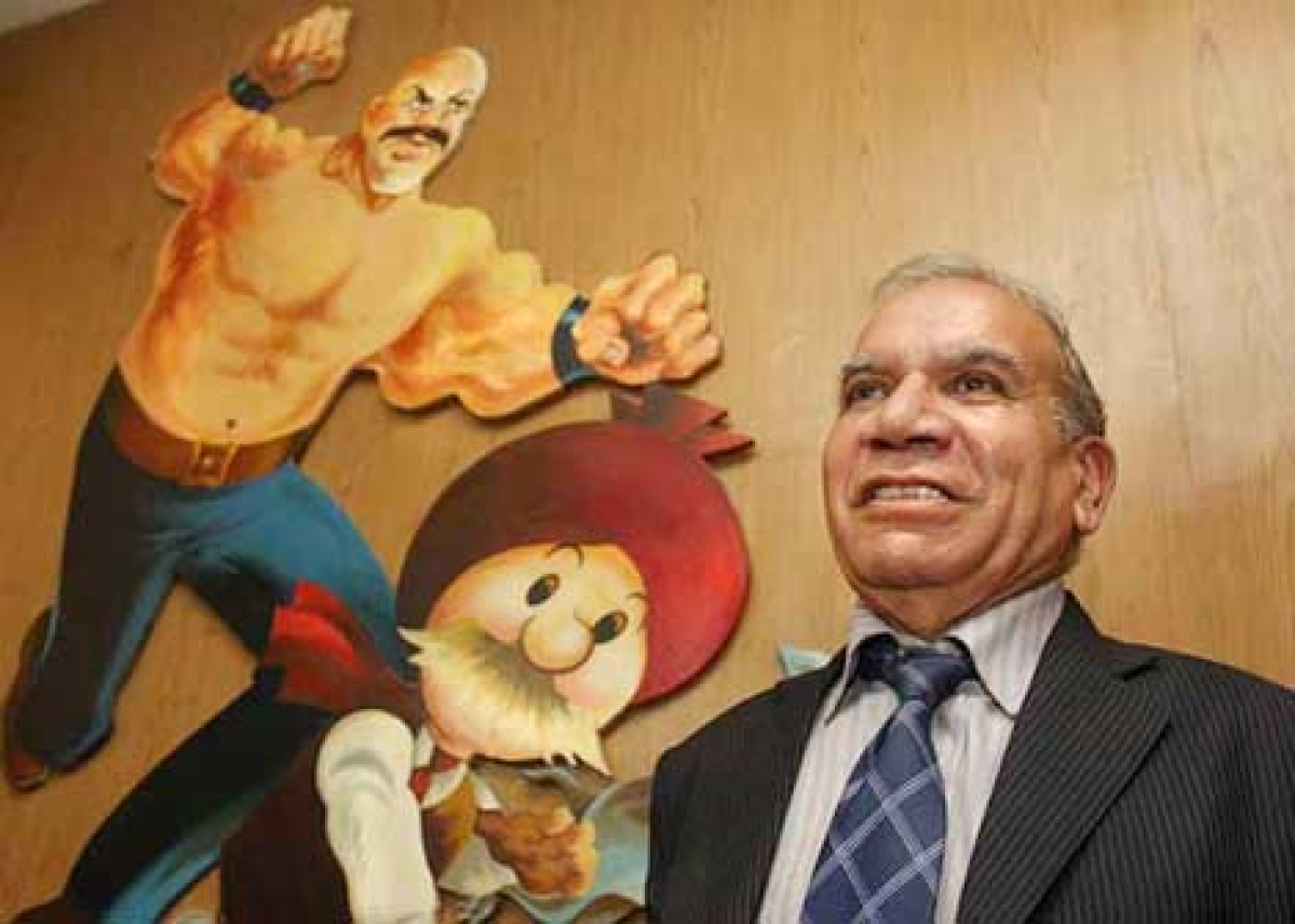 Bollywood  remembers  Chacha Chaudhary creator