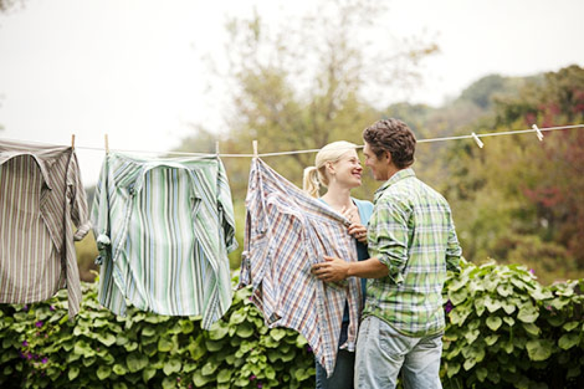 Share domestic chores for more intimacy