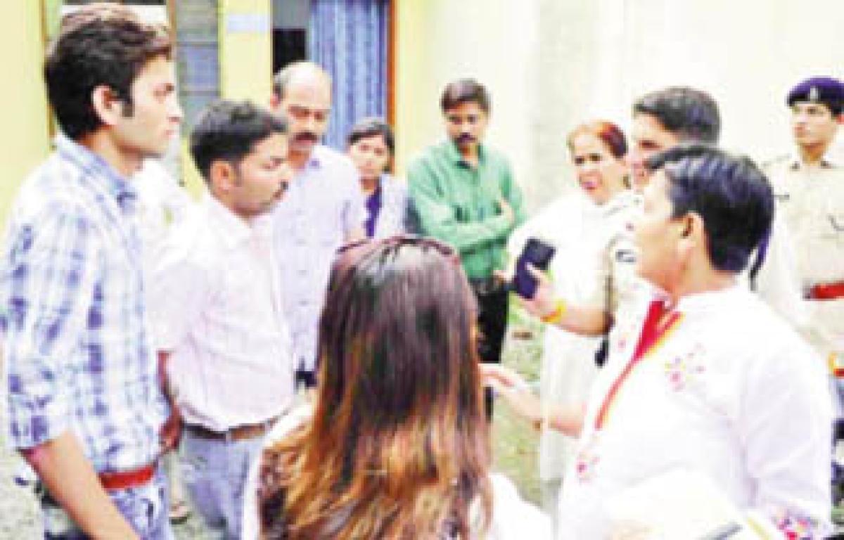 Girls trafficked from Assam rescued from Mahananda Nagar