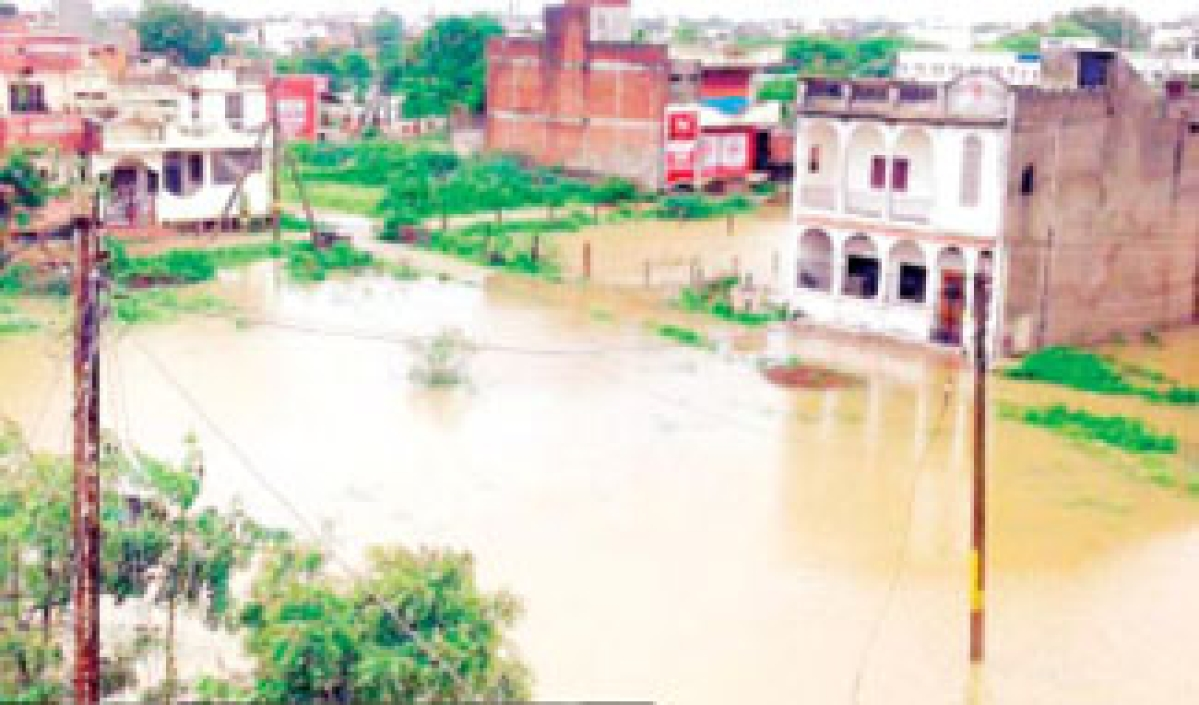 Continuous downpours effect normal life in Neemuch