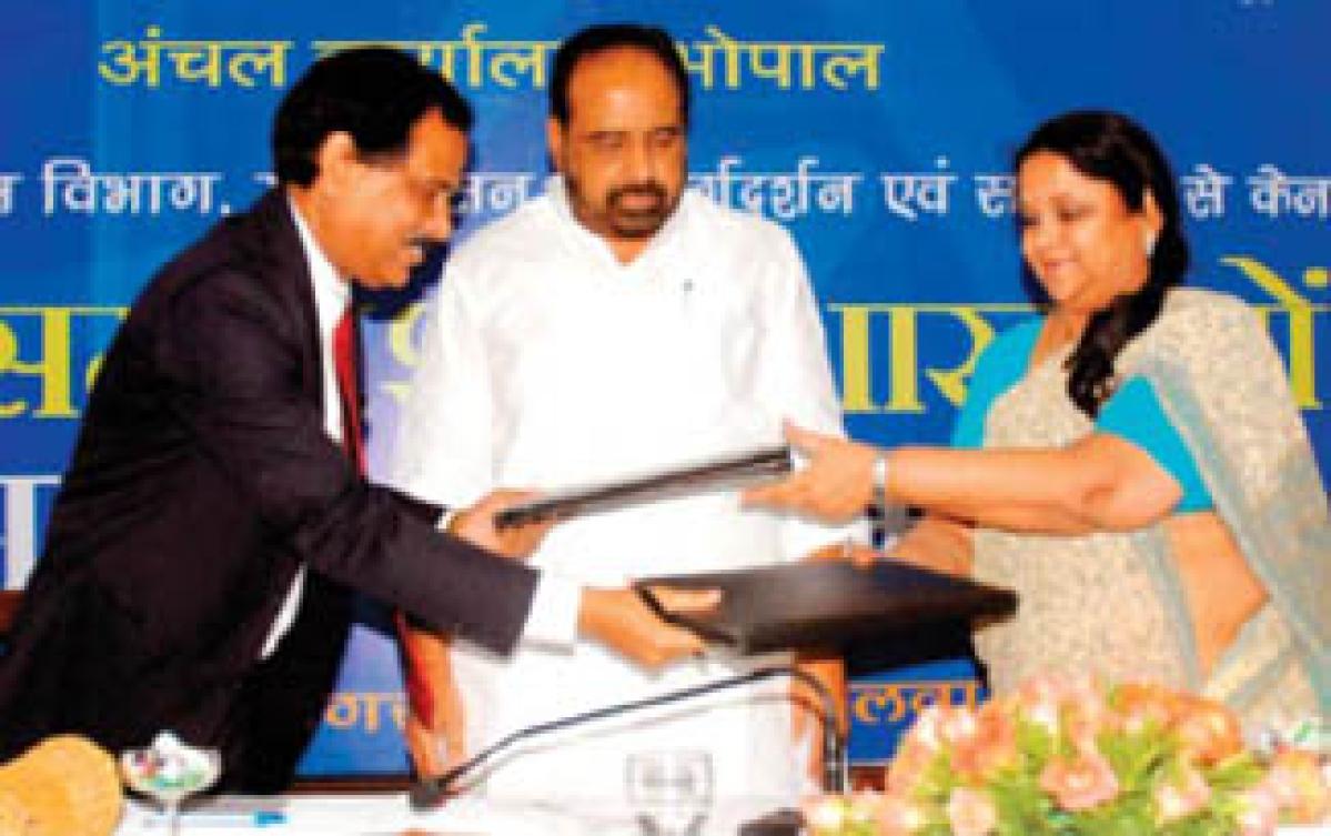 Min inaugurates five rural branches of Canara Bank