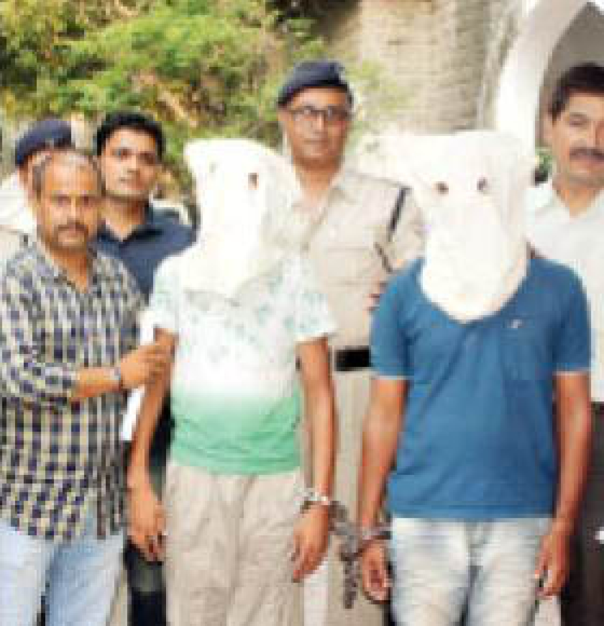 Police arrest two from Ahmedabad