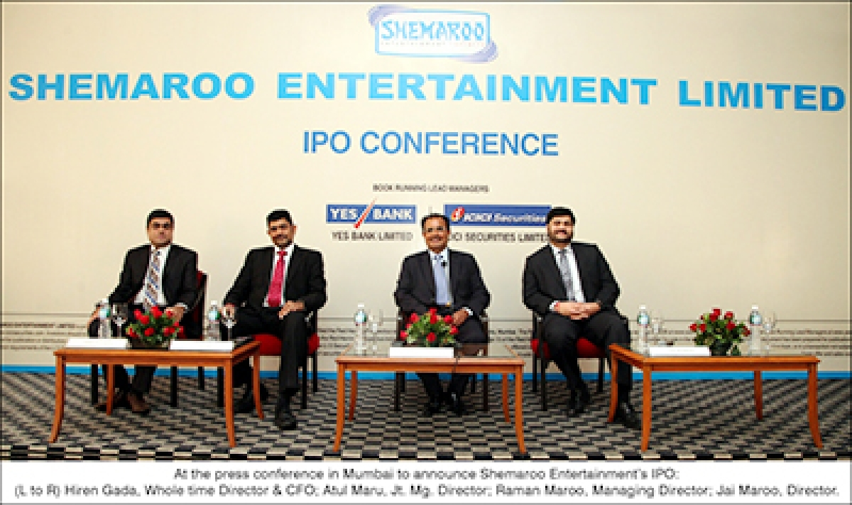 Shemaroo Entertainment IPO opens on Sep 16