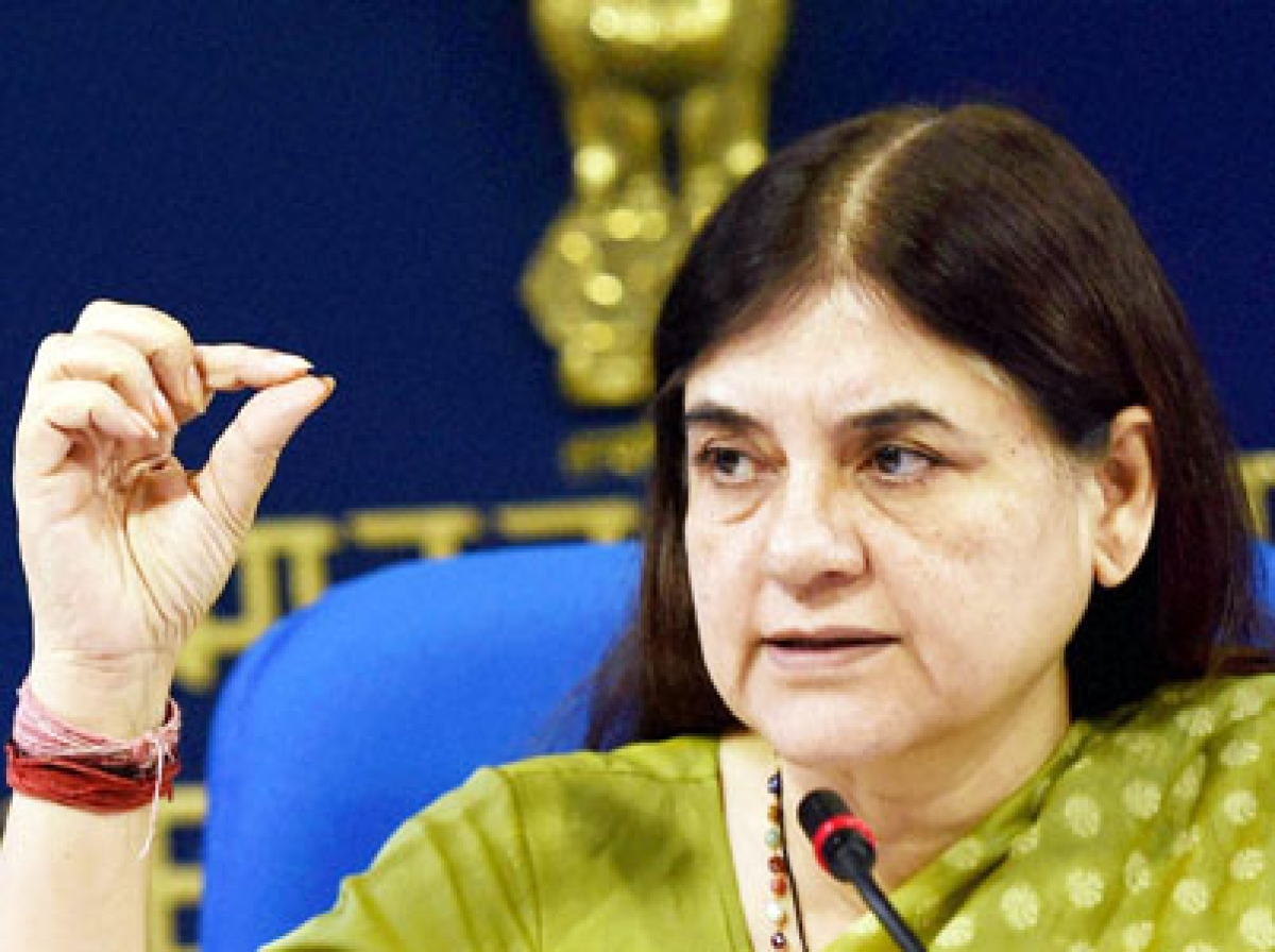 Female foeticide needs to be fought strongly: Maneka Gandhi
