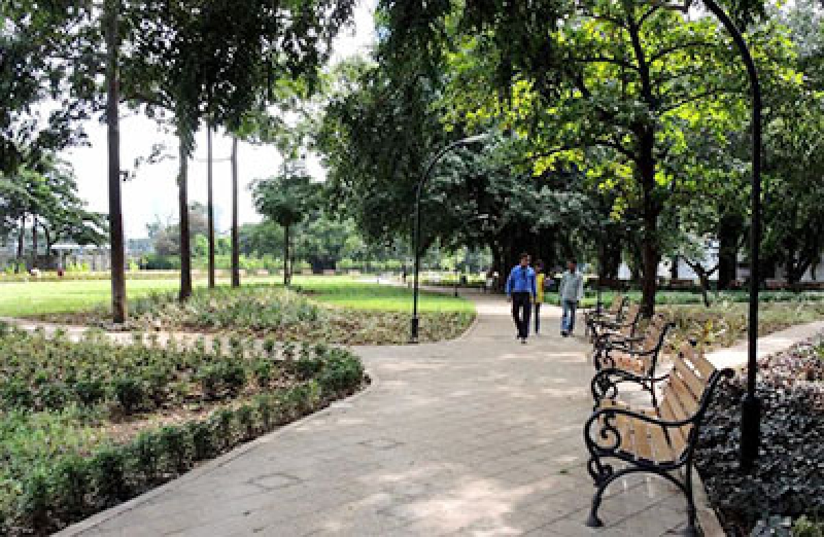 Sewage treatment plant at Dadar transformed into a 14-acre garden