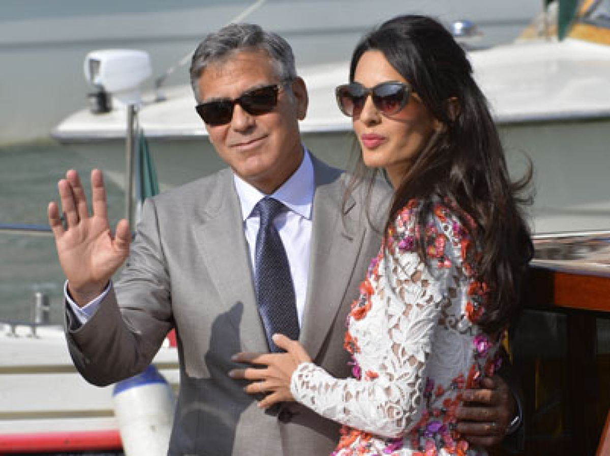 Amal to gift Clooney a Porsche for his birthday