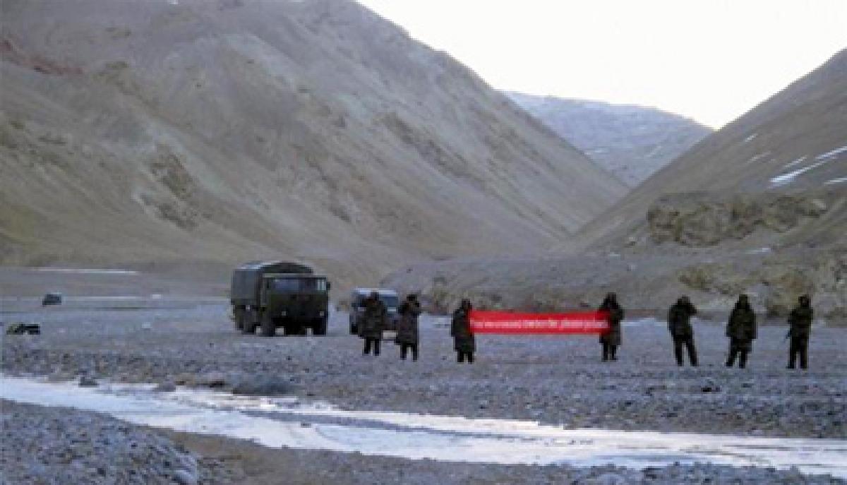 Now, Chinese civilians intrude into Ladakh