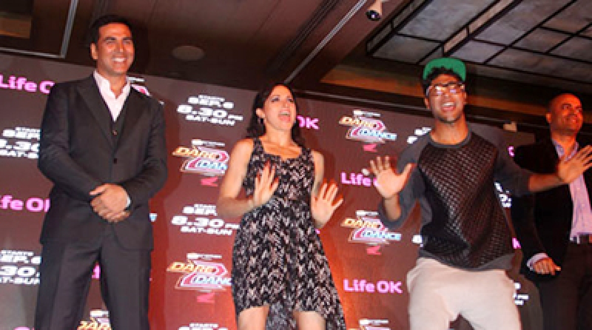 When Akshay rapped live at 'dare 2 dance' launch