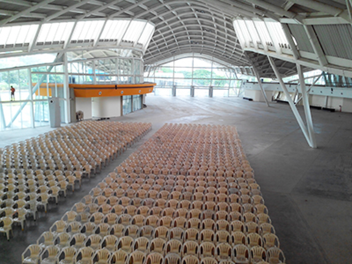 Vashi's convention centre combines the NCPA with the NSE expo