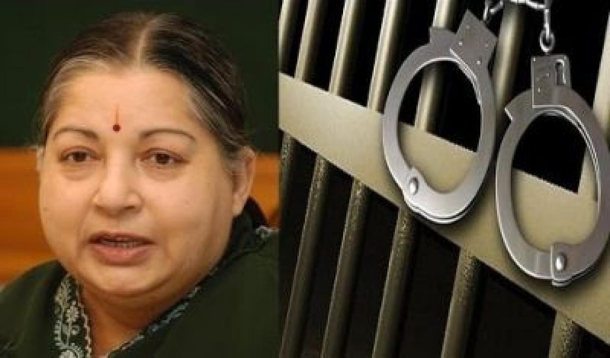 jayalalitha in jail
