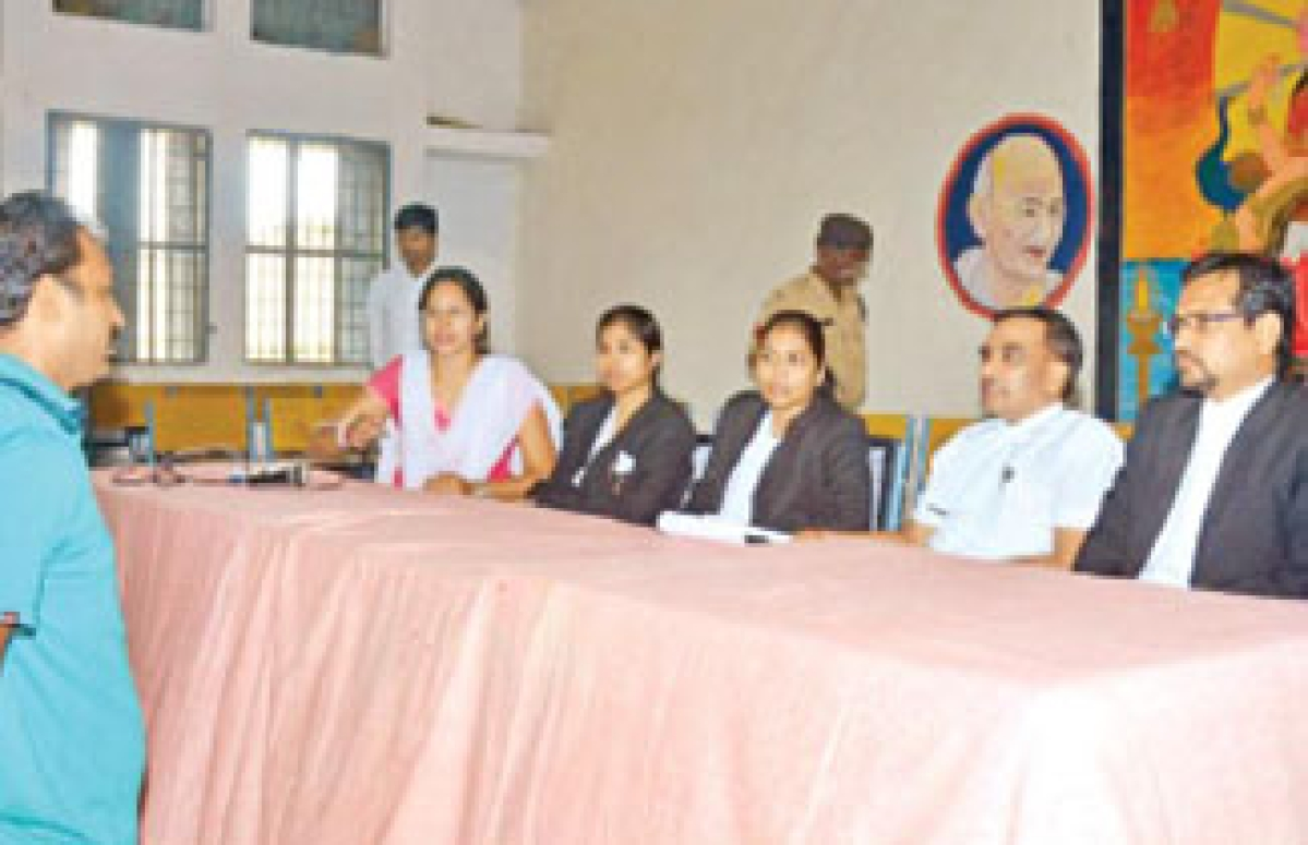 Legal Literacy Camp held at District Jail