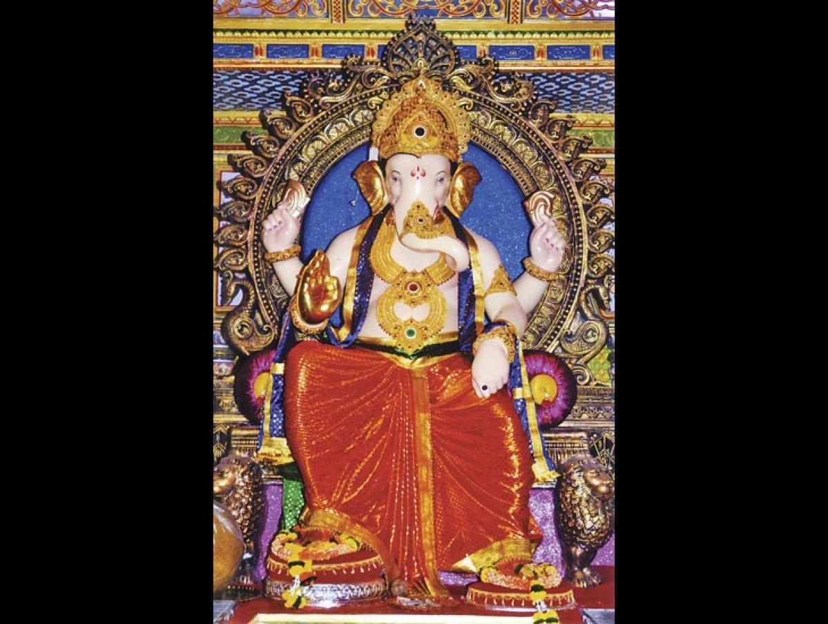 Fortcha Ichchhapurti Ganesh Fort Vibhag SArvajanik Ganeshotsav Mandal