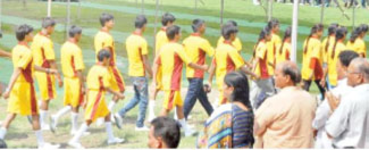 60th State-level School Sports Meet inaugurated