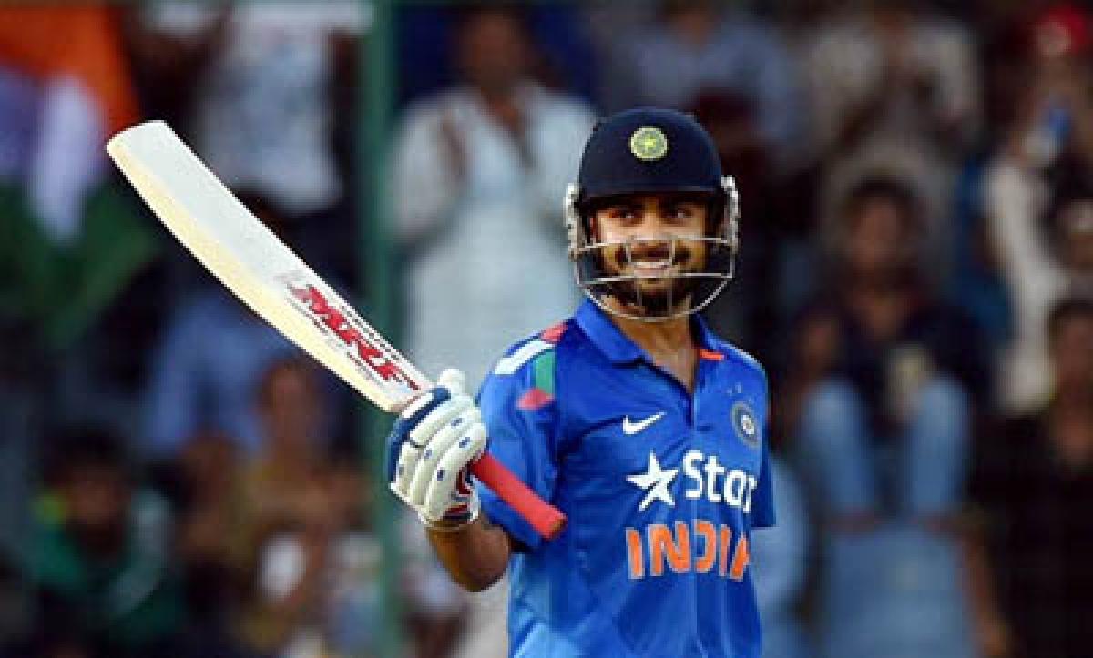 I got my touch back with fifty in Delhi ODI: Kohli