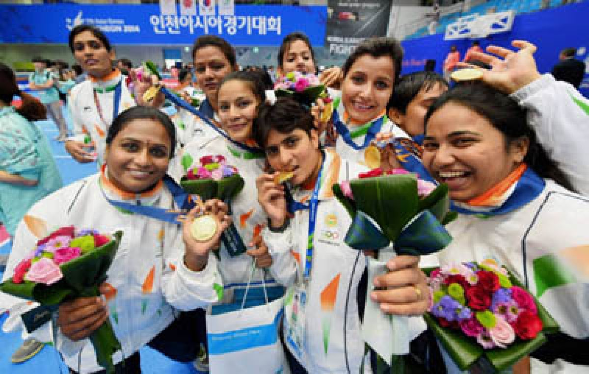 Golden double for India