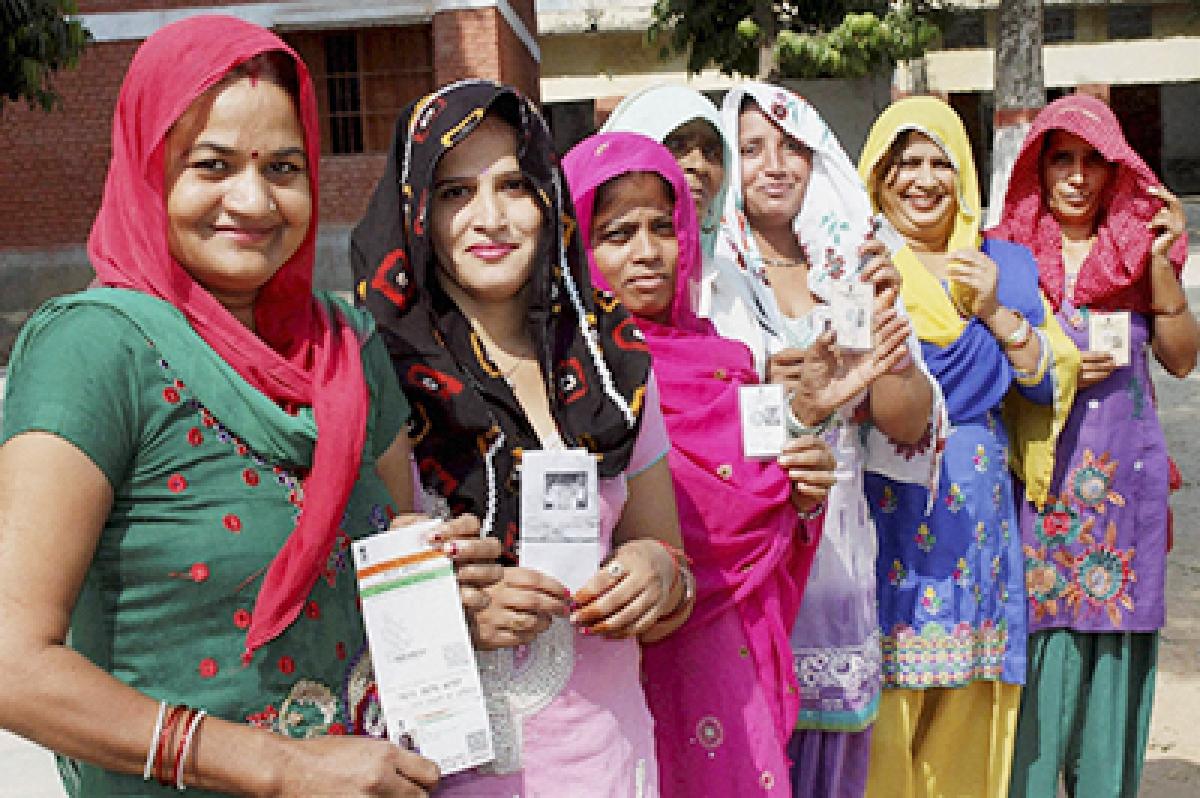 Women Show The Way In Haryana Polls