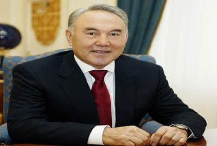 Kazakh President Nursultan Nazarbayev receives Global Islamic Finance Award