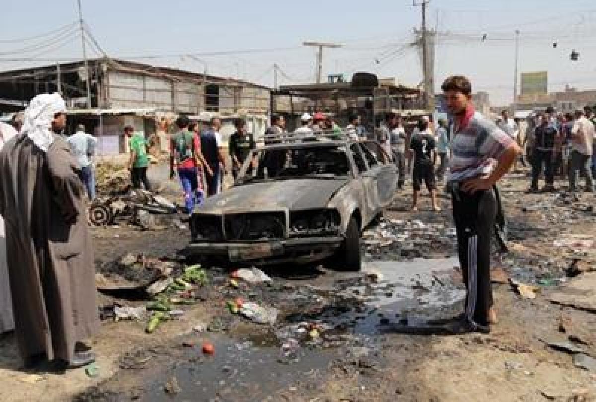 Iraq: Suicide attack kills at least 17 in Baghdad