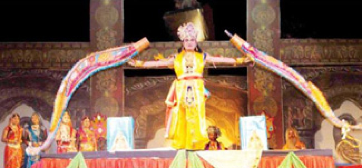 Audience get excited to witness enactment of Ramleela