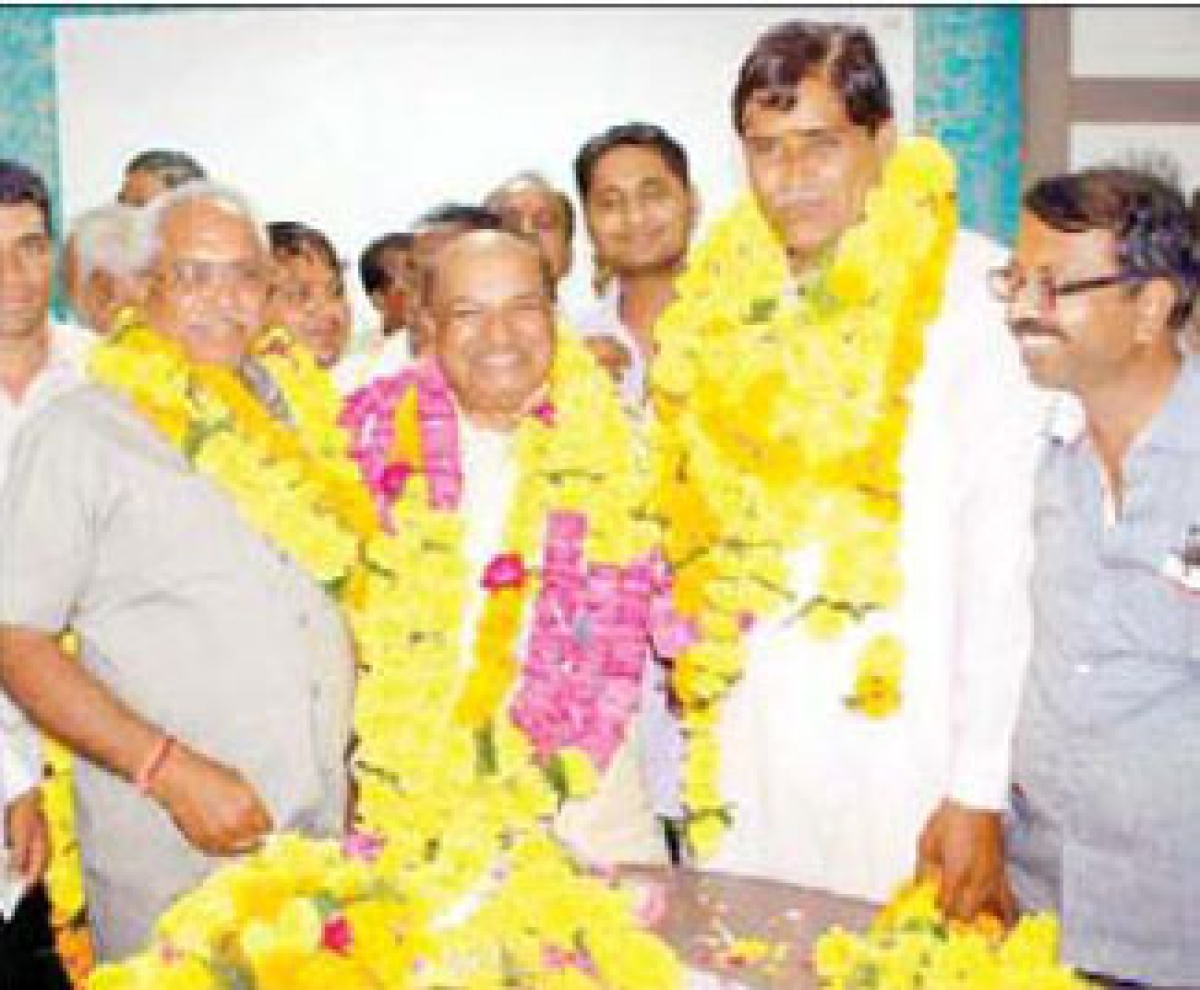 Bhatol elected UDCCB chairman