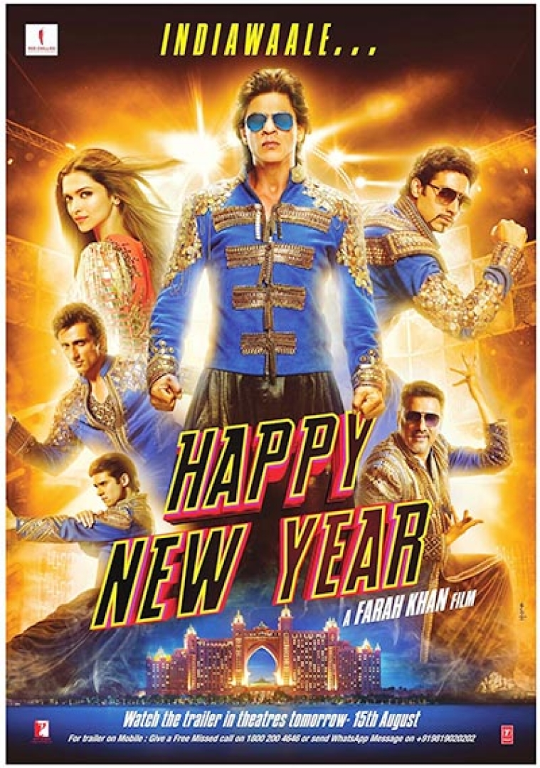 Happy New Year Film India 23