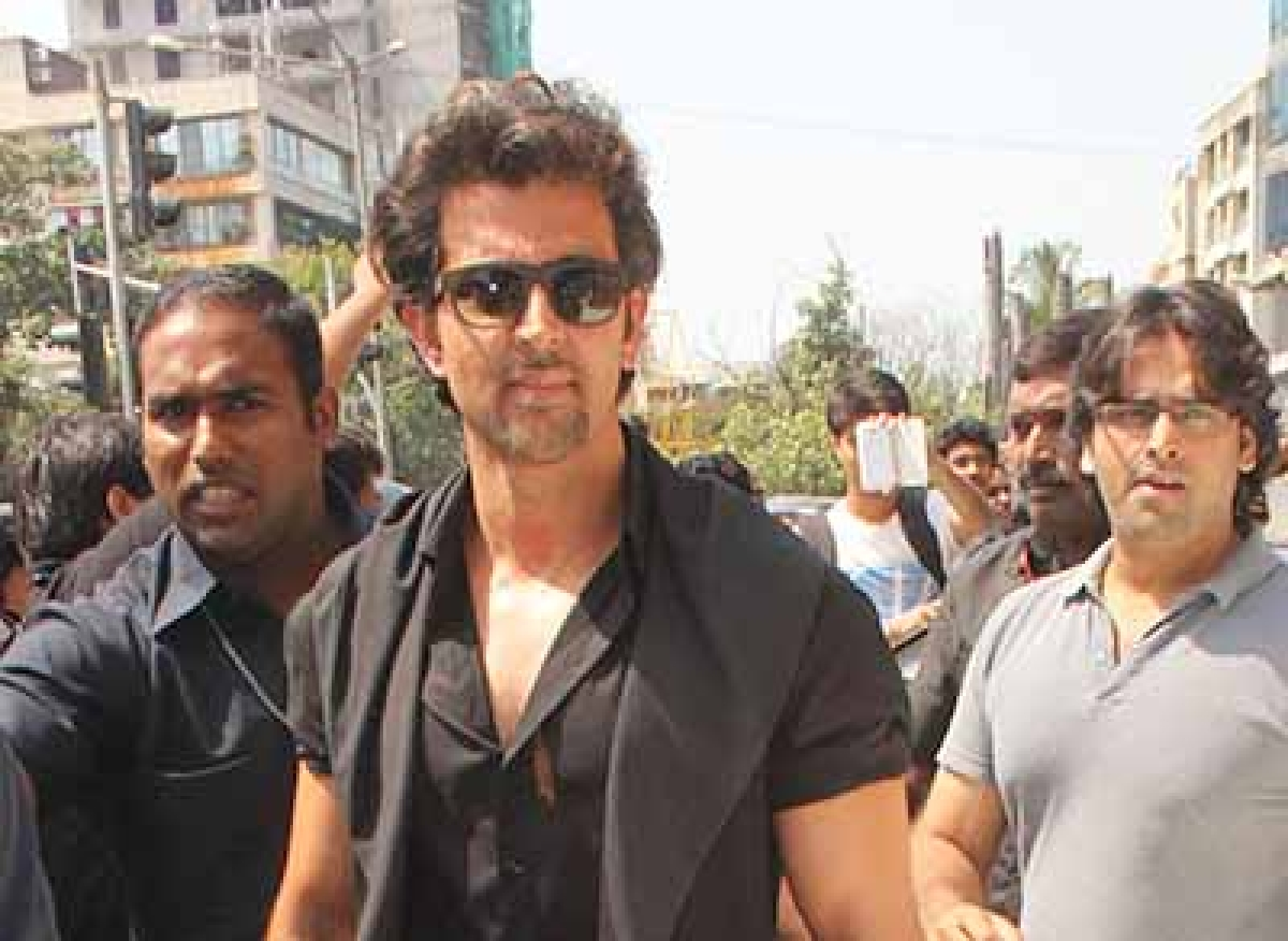 What is Hrithik Roshan made of?!