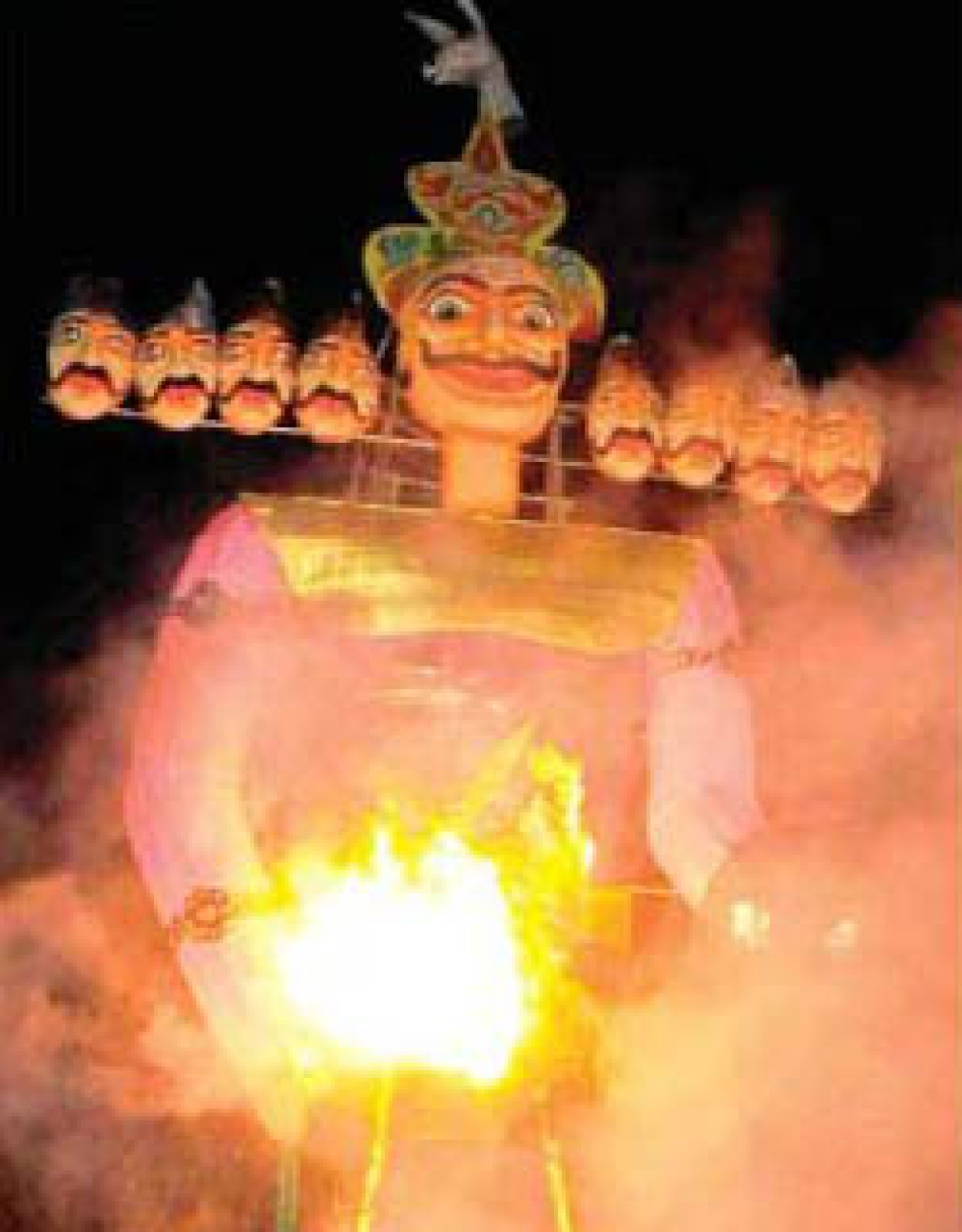 Dussehra festivities come to an end