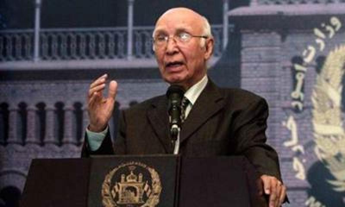 No reason to target militants not posing threat to Pak: Aziz