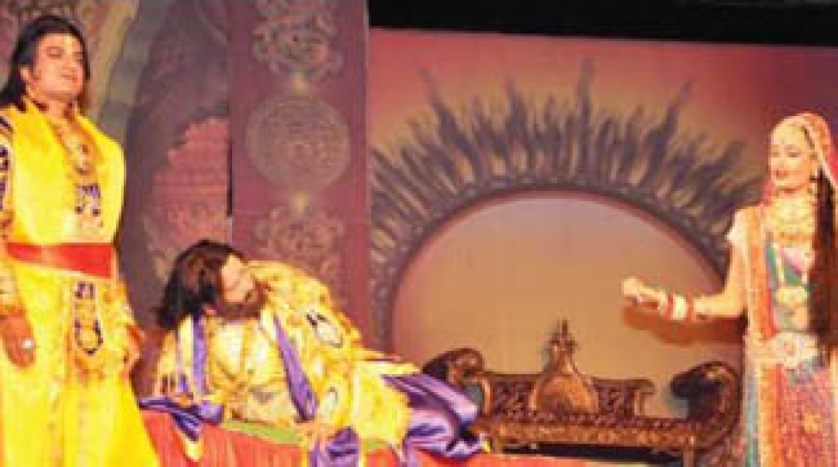 Scene of Lord Ram's exile leave audience emotional