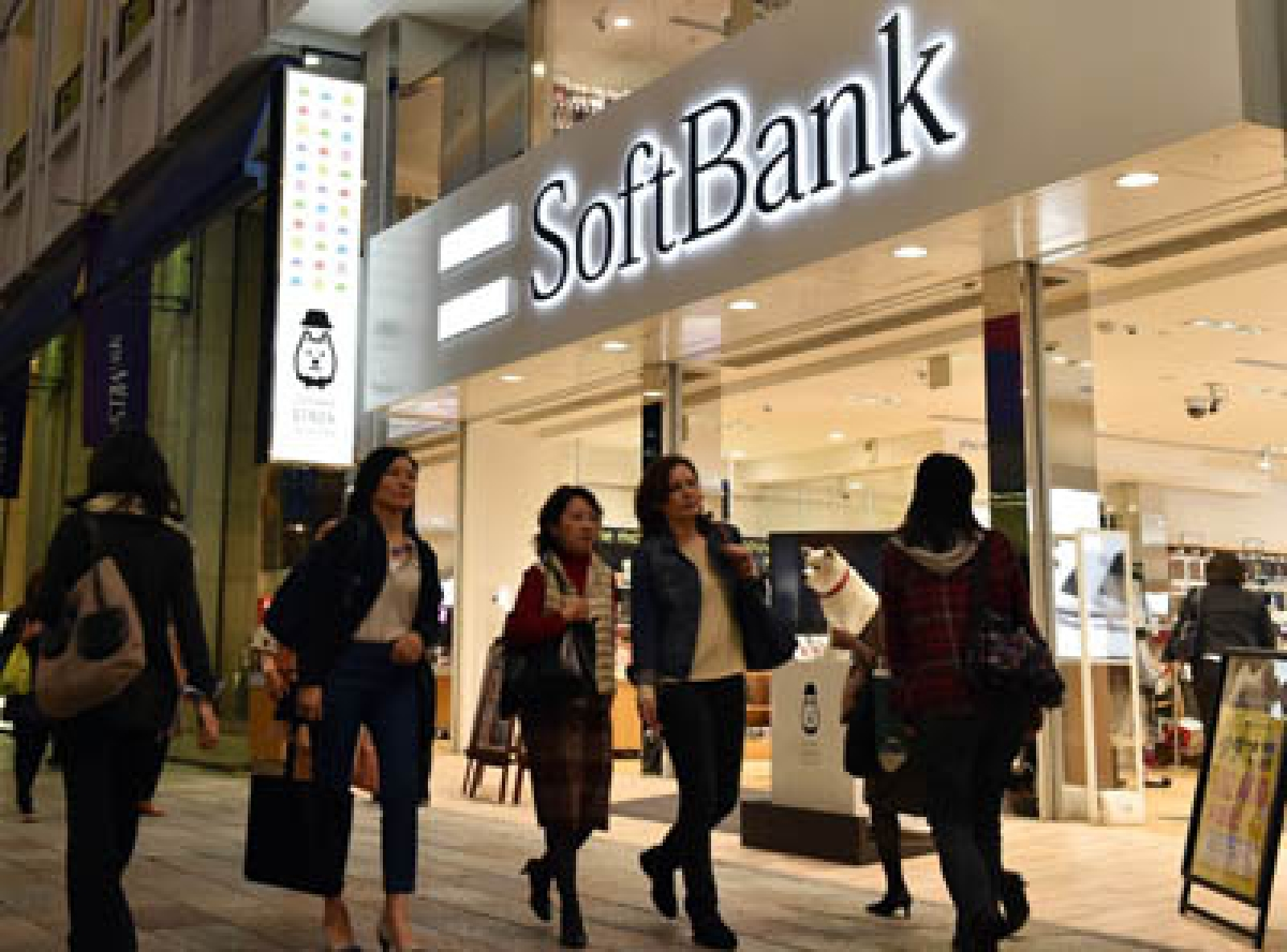 Profit at Japan's SoftBank zooms on lucrative investments
