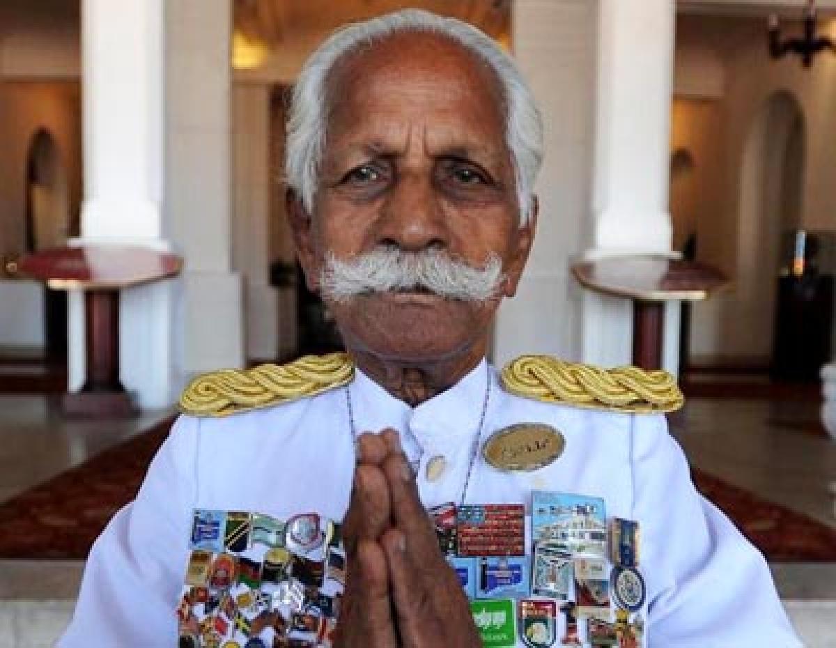 Lanka's Famous Indian-Origin Hotel Doorman Dies At 94