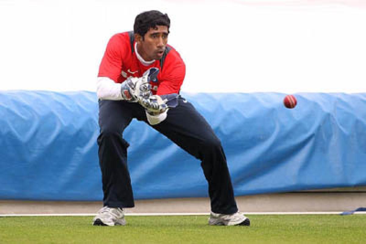 Team India sweat it out ahead of Lanka ODI series