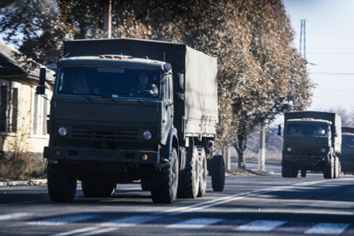Shelling Rocks Ukraine's Rebel Donetsk Despite Truce