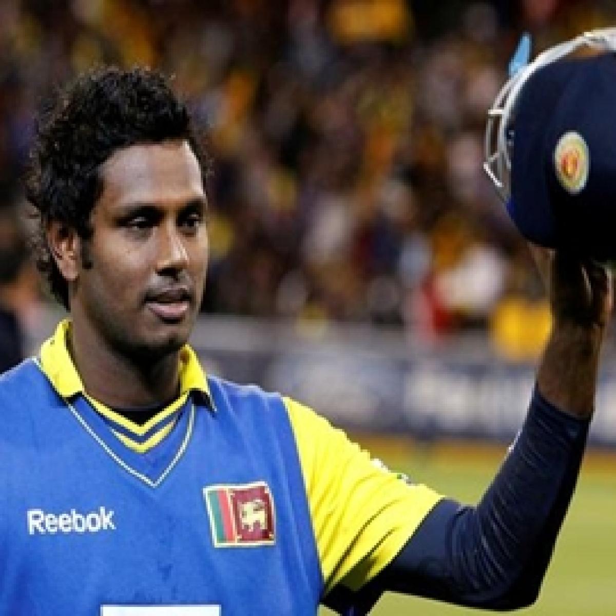 Sri Lanka announce squad for India tour, Mathews returns