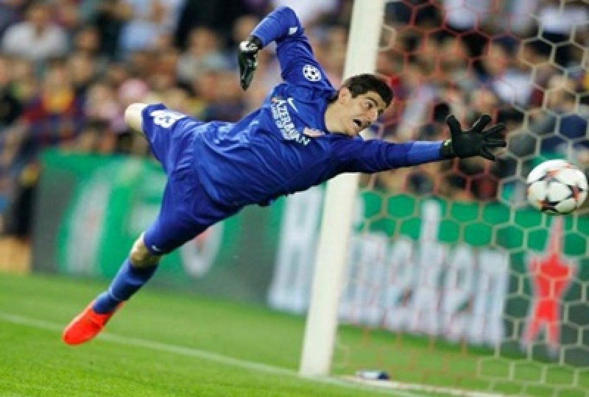 Chelsea don't have title in the bag: Thibaut Courtois