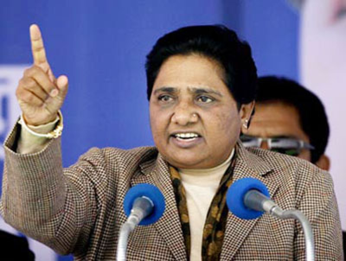 Yogi Adityanath wants to communalise UP, alleges Mayawati