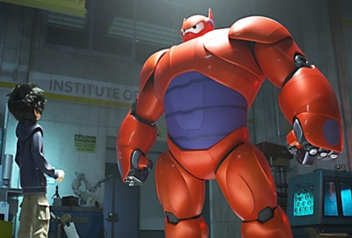 Disney unveils new fat superhero Baymax